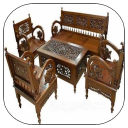 Wood Carving Chair Design
