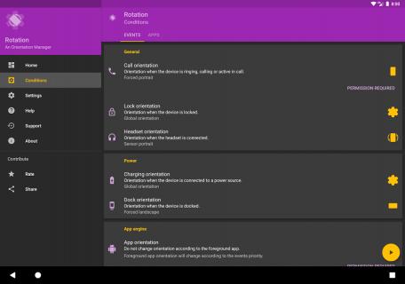 Rotation - Orientation Manager screenshot 3