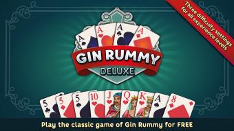Gin Rummy Deluxe Screenshot