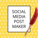 Social Media Post Maker, Planner & Graphic Design