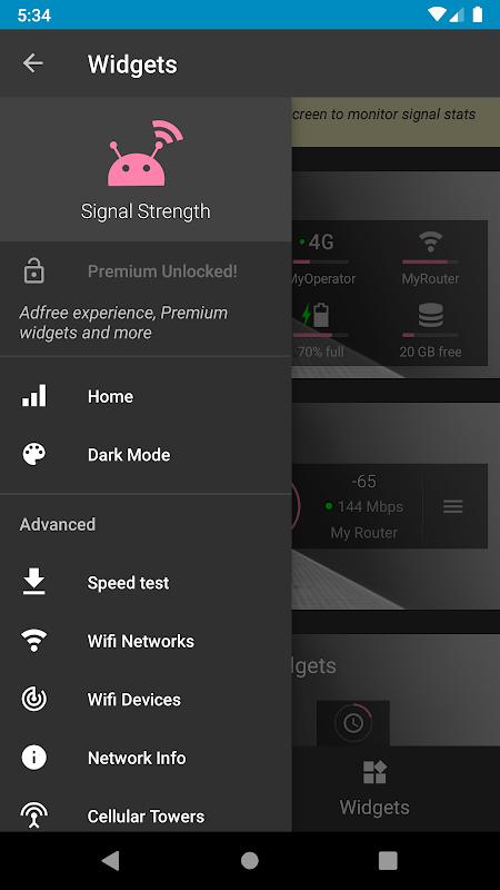 Signal Strength screenshot 1