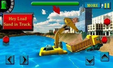 River Sand Excavator Simulator (обновлено v 2.3) 3