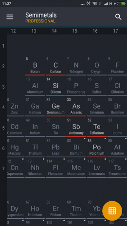 periodic table 2017 pro screenshot 6 - Periodic Table Pro Apk Free