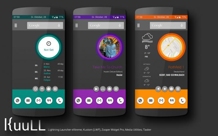 Kuull LLX\Kustom Theme 1 00 Download APK for Android - Aptoide