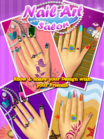 Nail Art Salon Girls Game 25 Download Apk For Android Aptoide