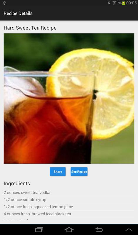 Foodies: Recipe by ingredients screenshot 2