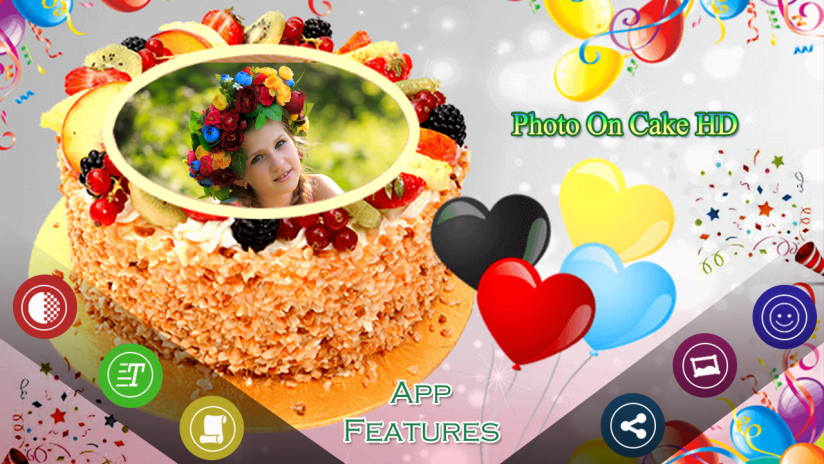 Incredible Photo On Birthday Cake 1 1 Download Apk For Android Aptoide Personalised Birthday Cards Xaembasilily Jamesorg