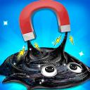 DIY Fluffy Slime - Galaxy Magnetic Slime