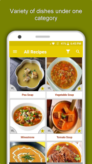 Soup & Curry Recipes: Healthy Nutritious Diet Tips screenshot 8