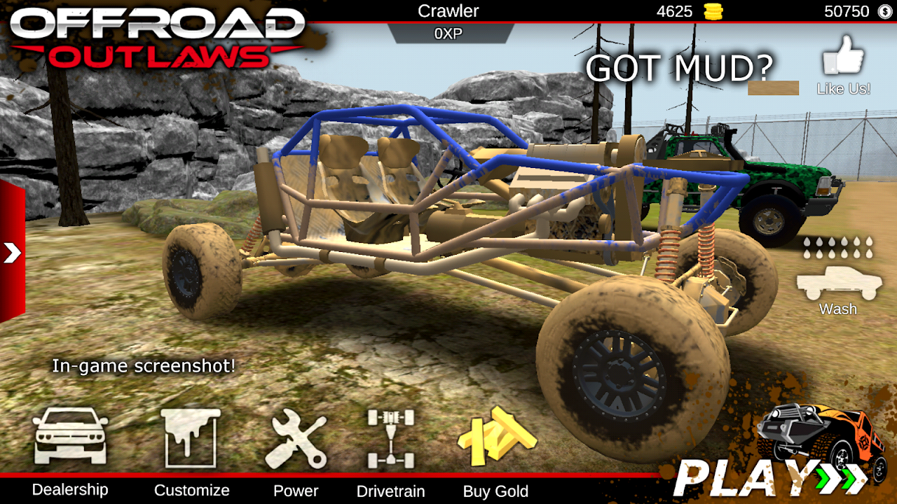 Offroad Outlaws screenshot 1