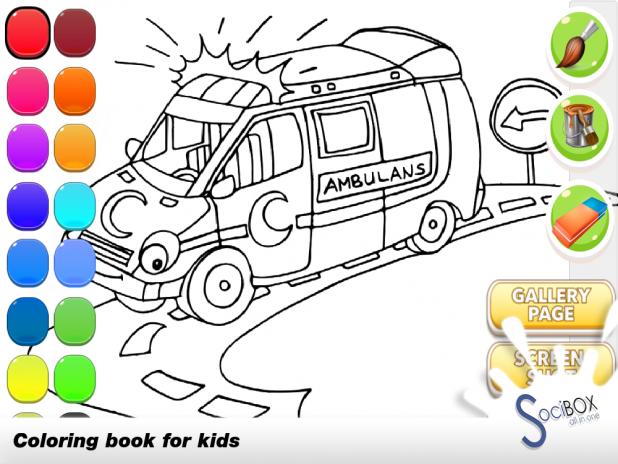 Ambulans Boyama Oyunu 10190417 Android Aptoide Için Apk Indir