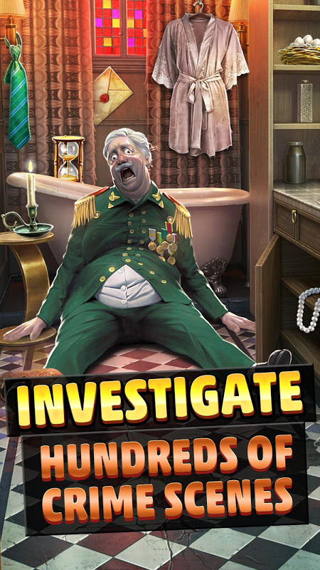 Criminal Case: Mysteries of the Past! screenshot 1
