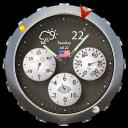 meteo e orologio analogico