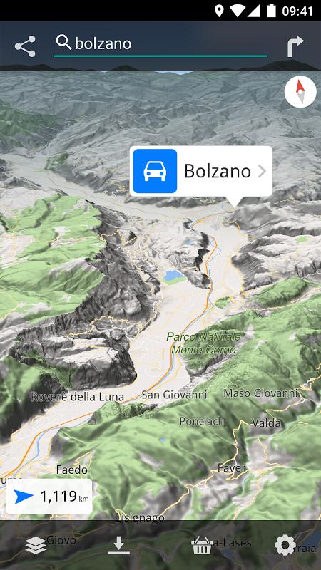 Magic Earth Pro Navigation screenshot 1