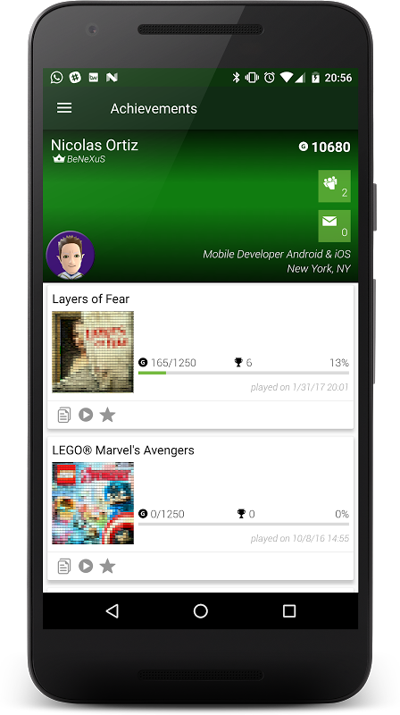 Achievements for XBOX screenshot 1