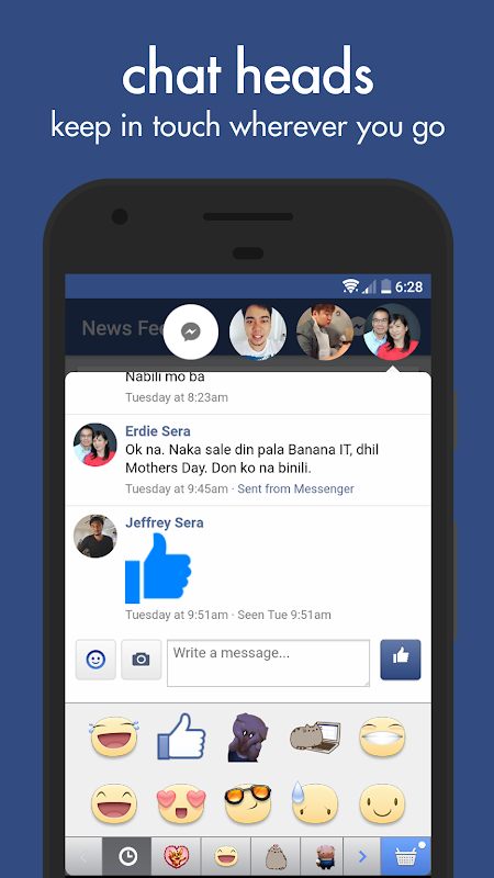 Swipe for Facebook screenshot 2