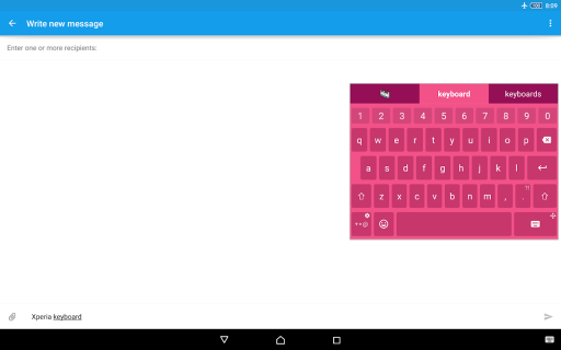 Xperia Keyboard 8 1 A 0 12 Download APK for Android - Aptoide