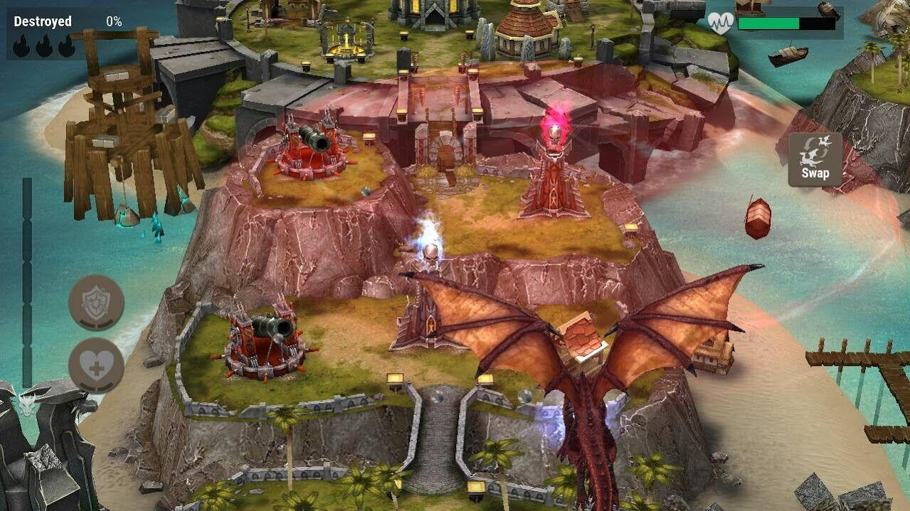 War Dragons screenshot 1