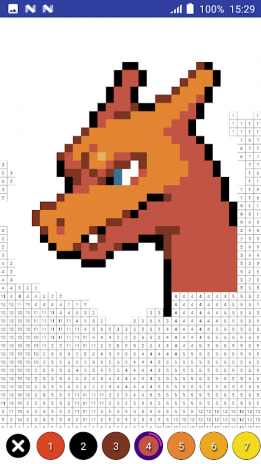 Color By Number Pokemon Pixel Art 13 Download Apk For