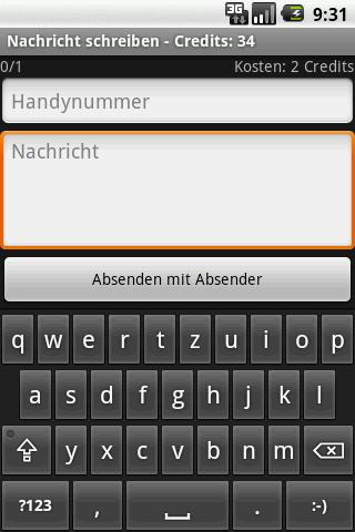 CHERRY SMS screenshot 1