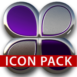 Icon Pack Purple Glas 3d 1 7 Download Apk For Android Aptoide