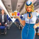 Air Hostess Simulator : Airplane Flight Attendant