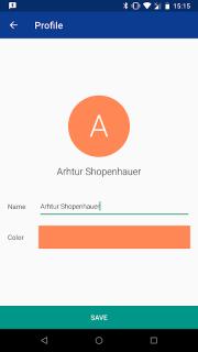 Bluetooth Chat screenshot 2