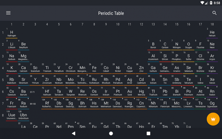 Periodic table 2018 0155 download apk for android aptoide periodic table 2018 screenshot 9 urtaz Images