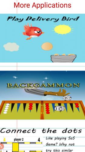 SOS Spiel screenshot 4