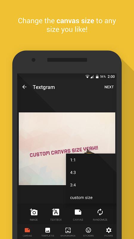 Textgram - write on photos screenshot 2