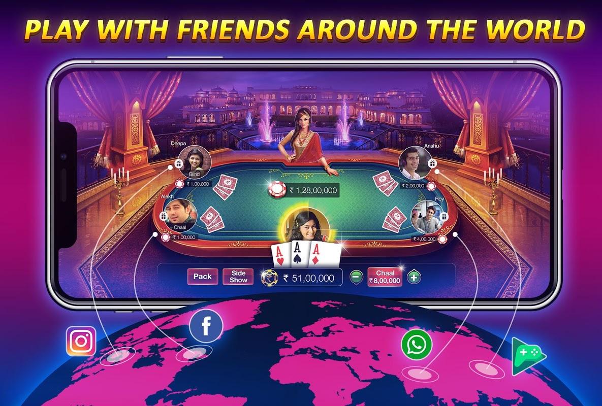 Teen Patti Gold - With Poker & Rummy screenshot 3
