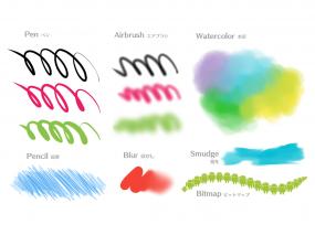 MediBang Paint - drawing Screenshot