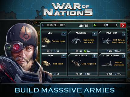 War of Nations: PvP Domination screenshot 7