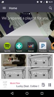 Music Flow Player screenshot 1
