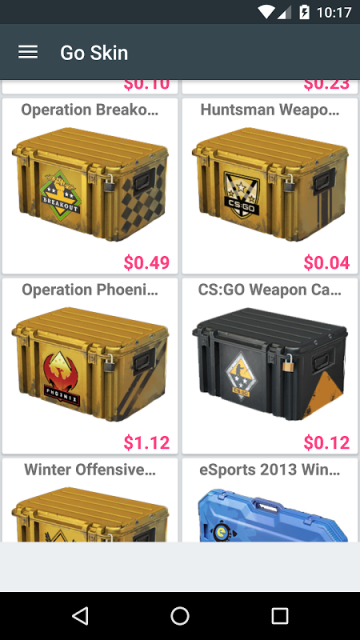 cs go skins value
