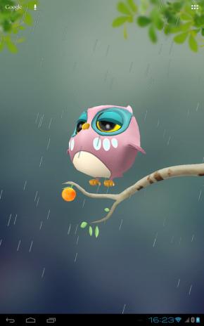 ... owl 3d wallpaper screenshot 4 ...