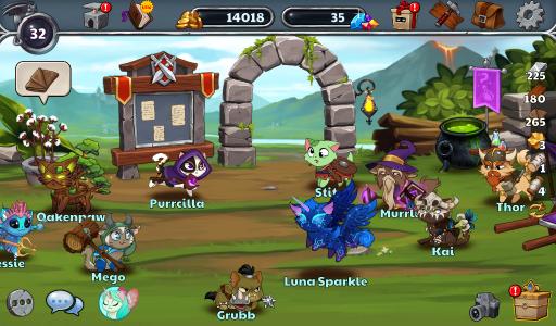 Castle Cats: Epic Story Quests screenshot 5