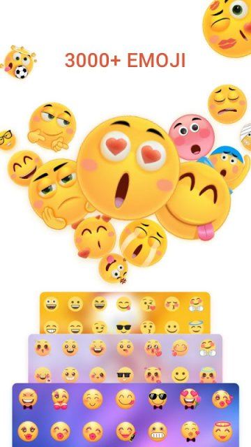 Best Emoji Keyboard with massive emojis, emoticons & smiley faces -Free to type cool emoji & emoticons on Message, SMS, Text Now, Email, Note, Kik, etc-easy to send ...