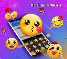 TouchPal Emoji Keyboard Screen