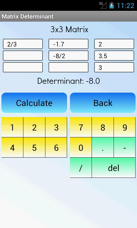 Matrix Determinant Pro screenshot 1