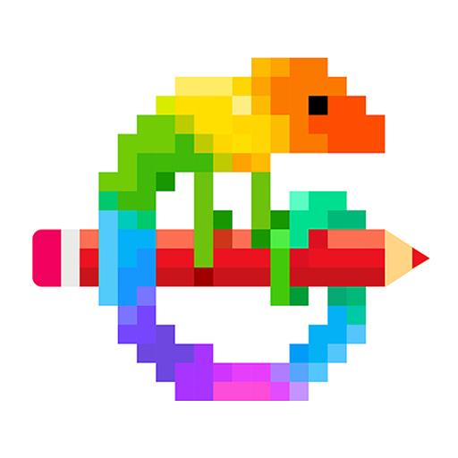 Pixel Art: Livro para colorir por números