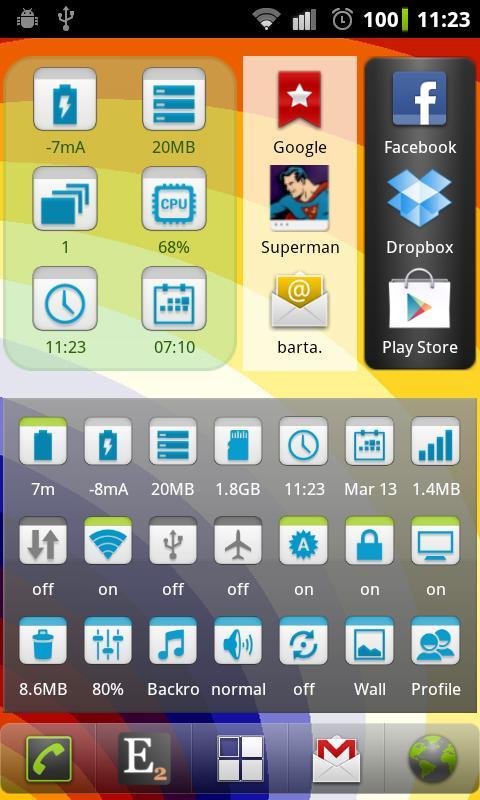 Elixir 2 - Widgets screenshot 1