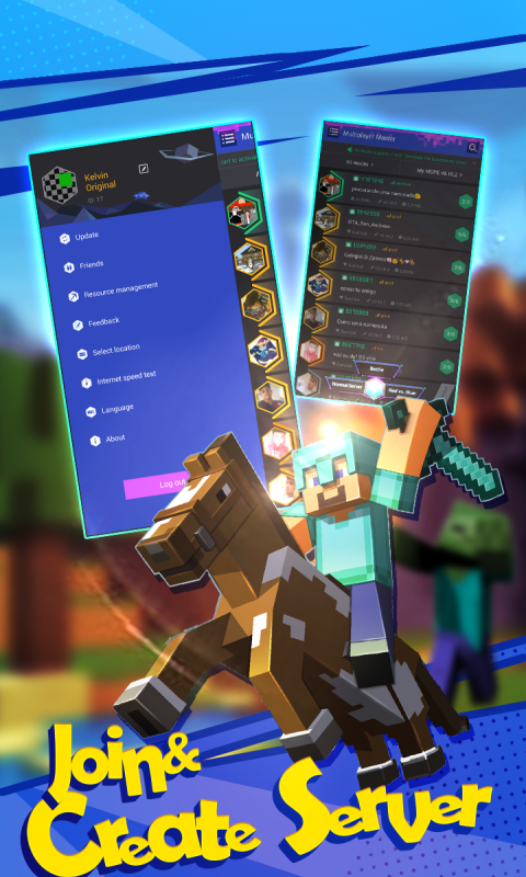 Multiplayer for Minecraft screenshot 1