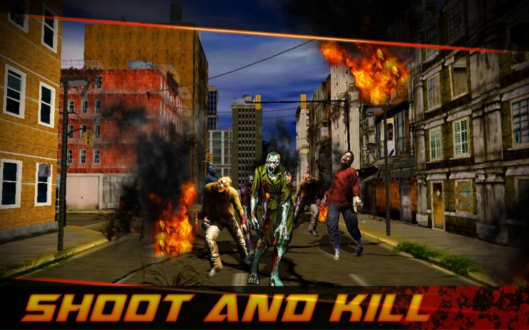 zombie shooting frontier 3D 1 4 Download APK for Android