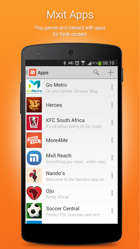 new version of mxit 6.3.0