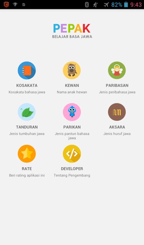 Ebook Kamus Bahasa Jawa