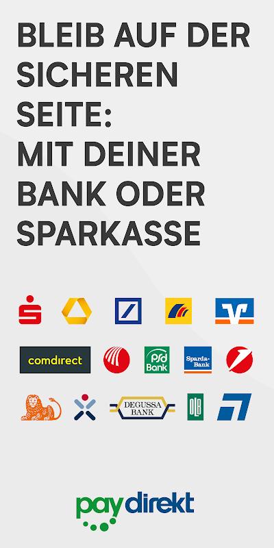 paydirekt screenshot 2