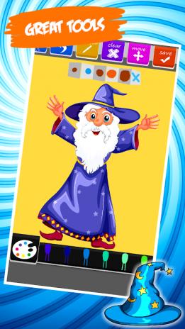 Sihirbaz Boyama Kitabı 13 Android Aptoide Için Apk Indir