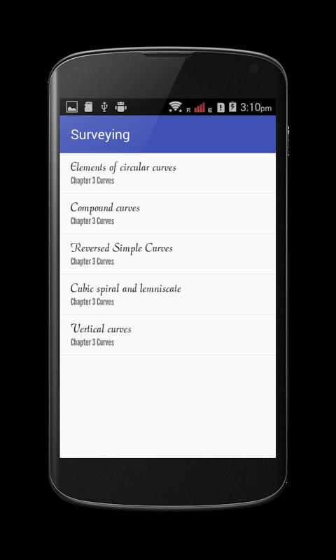 Surveying screenshot 2