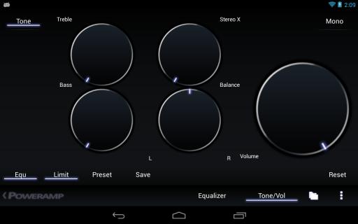 Poweramp screenshot 10